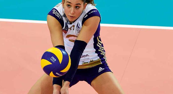 Volleyball: Techniklernen