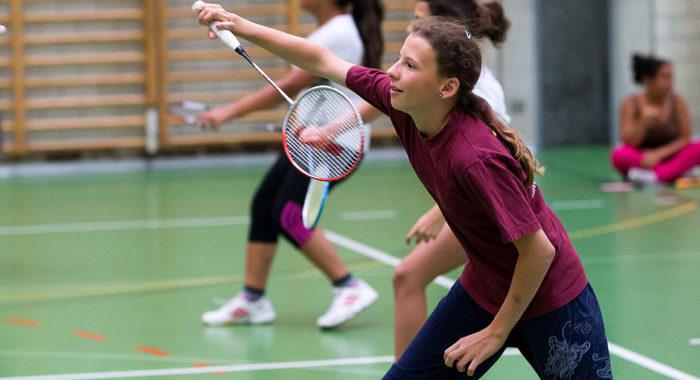 Badminton – Lauftechnik: Laufschritt