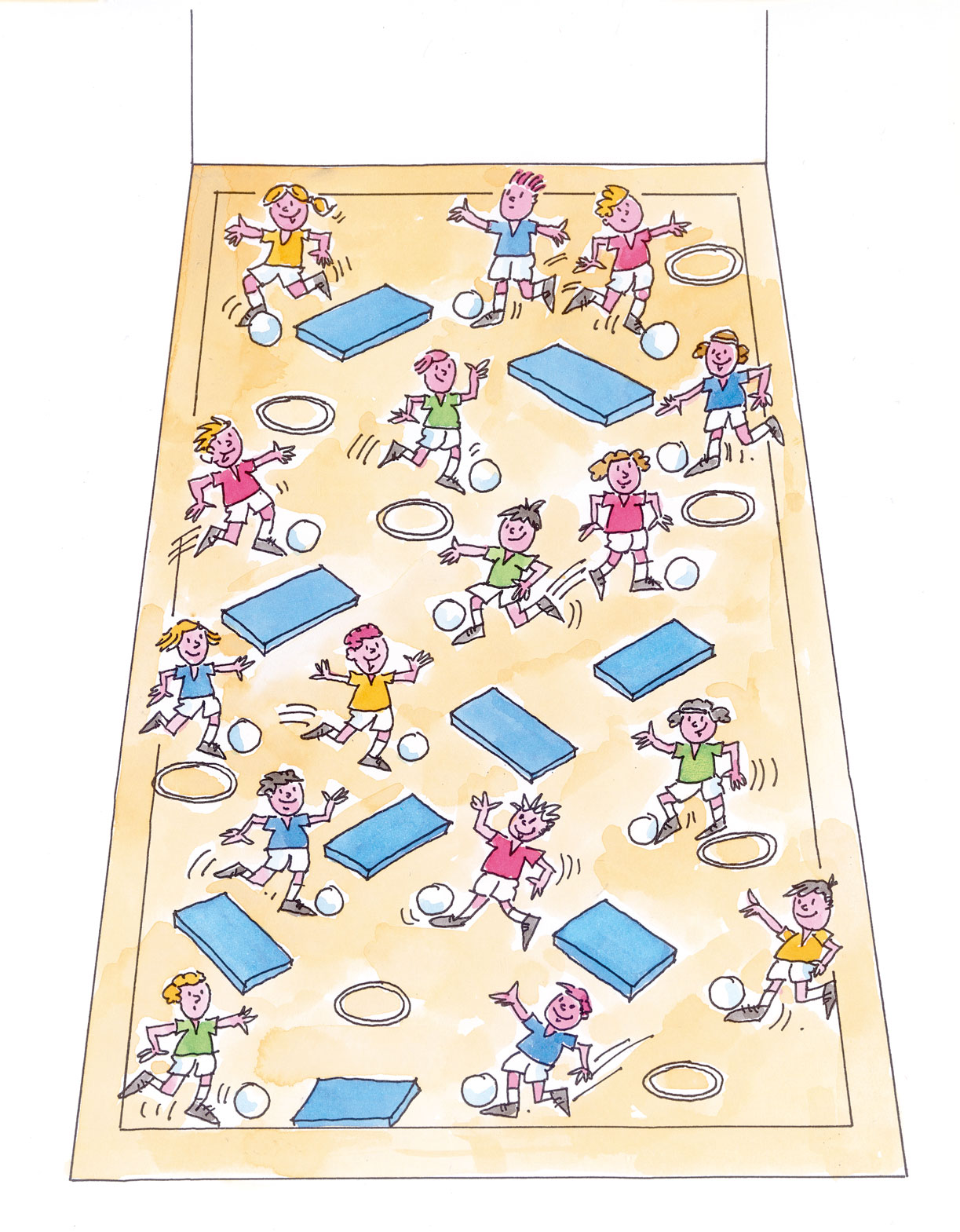 Fussball In Der Schule Seelowen Und Eisbaren Mobilesport Ch