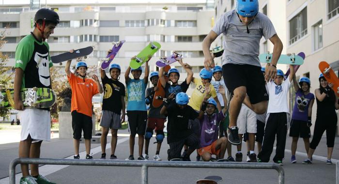 Freestylesport – Streetskate:  Lifestyle und Akrobatik in einem