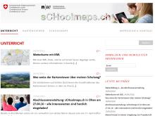 sCHoolmaps.ch: Des cartes numériques pour l'école