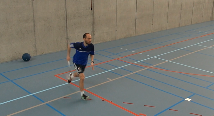 Intervalltraining – Ausdauer: Repetitive Sprints – Four touch Badminton