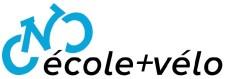 Logo «école+vélo»
