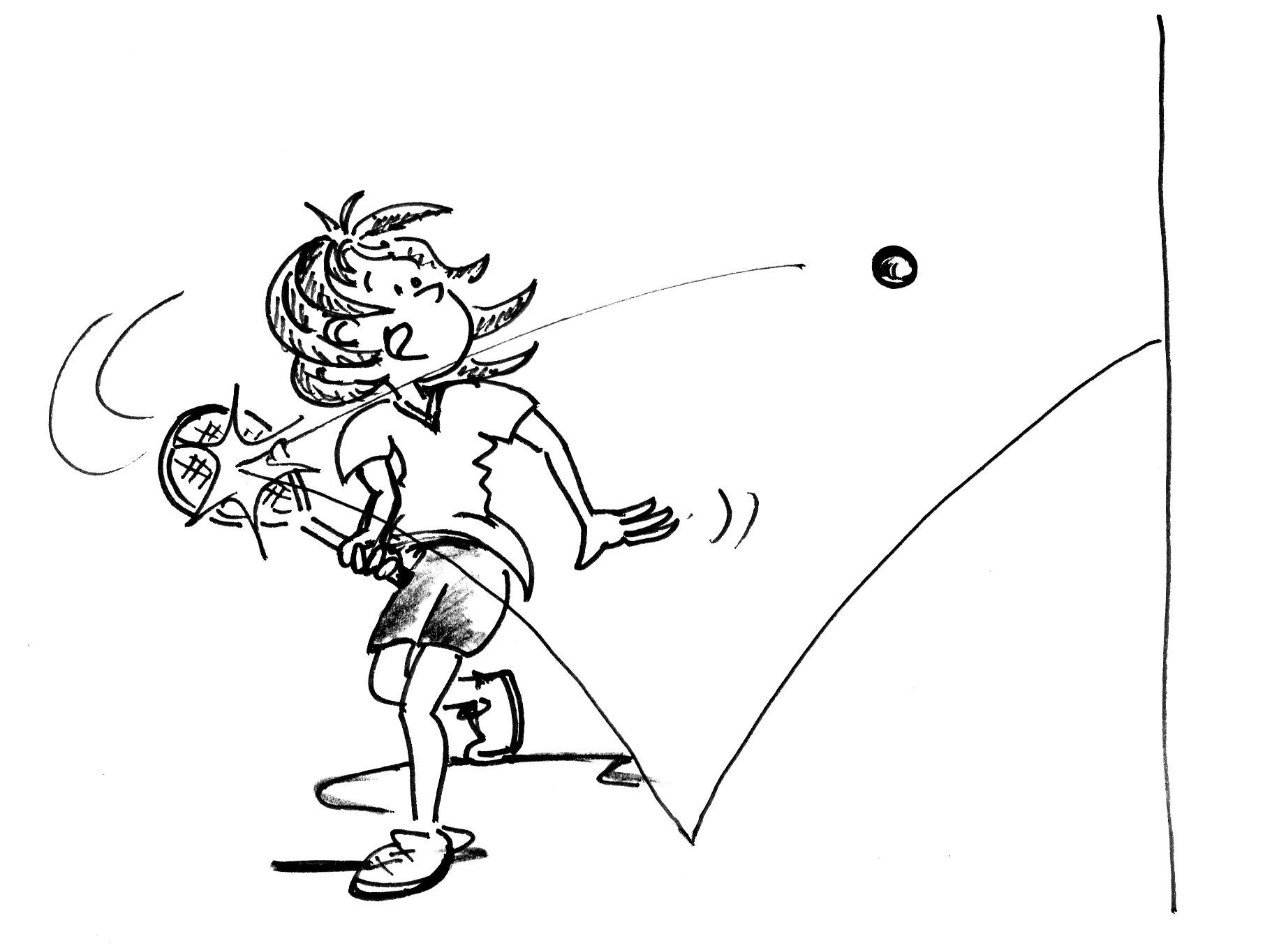 coup droit revers badminton pdf