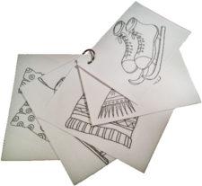 Foto: Zeichnungen für den Werkstattpass