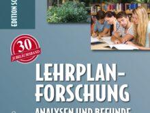 Buchtipp: Lehrplanforschung – Edition Schulsport