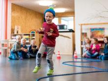 12/2016: Mehr bewegen im Kindergarten