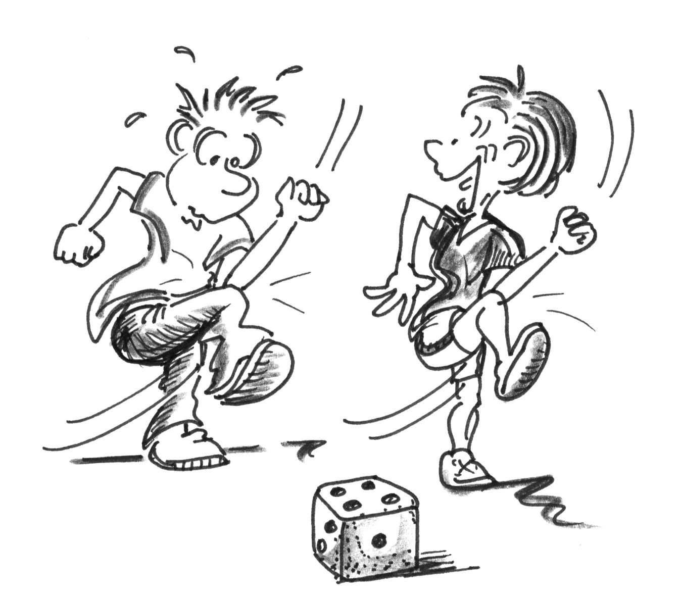 Stuhl comic  Spiele für Ältere 60 + auf dem Stuhl – Hauptteil: Zusatzbewegung ...