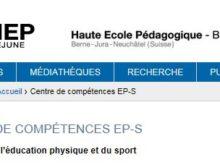 HEP BEJUNE: Centre de compétences EP-S