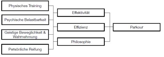 Grafik Schwerpunkte und Phasen