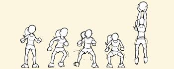 Disegno: il movimento in sequenza