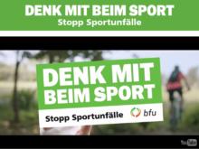 Sportunfälle: bfu startet neue Kampagne