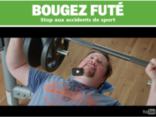 Accidents de sport: Nouvelle campagne du bpa