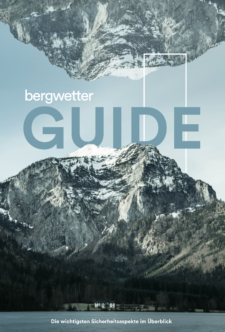 Cover E-Book: Der Bergwetter Guide