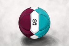 Zeichnung: Der offizielle Spielball SKILLtheBall.