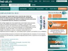 Medientipp: feel-ok.ch mit Instrumenten für den Lehrplan 21