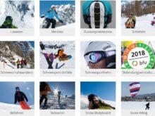 Wintersport: Mit den bfu-Tipps auf der sicheren Seite