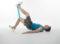 Entraînement avec engins − Mini-band: Extension de la jambe vers le haut