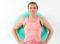 Training mit Hilfsmitteln − Swissball: Kniebeuge