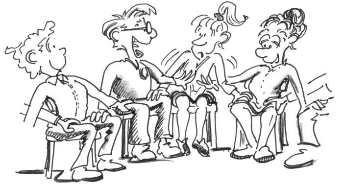 Erwachsenensport: Spiele für Ältere auf dem Stuhl