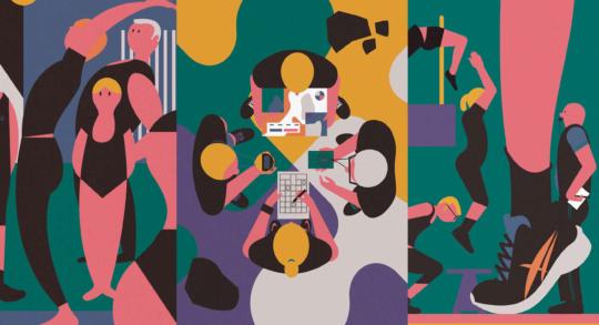 Collage: Symbolbild für die drei Methoden