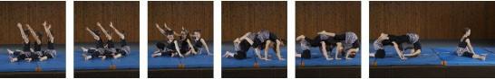 Sequenza di foto: descrizione dell'esercizio
