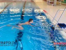 Wasserball – Paddeltechniken:  Spider/Wasserspinne/Spinne – Niveau Fortgeschrittene