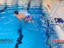 Wasserball – Paddeltechniken: Spider mit explosiven Wechseln – Niveau Fortgeschrittene