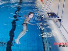 Wasserball – Paddeltechniken – Beinwärtsschieben: Arme isoliert – Niveau Fortgeschrittene