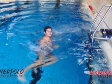 Wasserball – Paddeltechniken – Beinwärtsschieben: Komplett – Niveau Fortgeschrittene