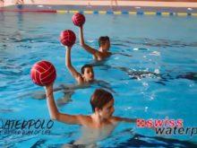 Wasserball – Passtechnik: Schussauslage – Niveau Anfänger