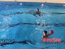 Wasserball – Passtechnik im Dreieck: Aufziehen vor und nach dem Gleiten – Niveau Fortgeschrittene