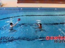 Wasserball – Passtechnik zu zweit: Nebeneinander in Bewegung – Niveau Fortgeschrittene