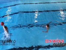Wasserball – Passtechnik zu zweit: Nebeneinander in Bewegung – Niveau Könner