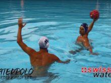 Wasserball: Blockübung