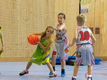11/2018: Basketball à l'école
