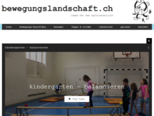 Medientipp: Ideen für den Sportunterricht auf bewegungslandschaft.ch